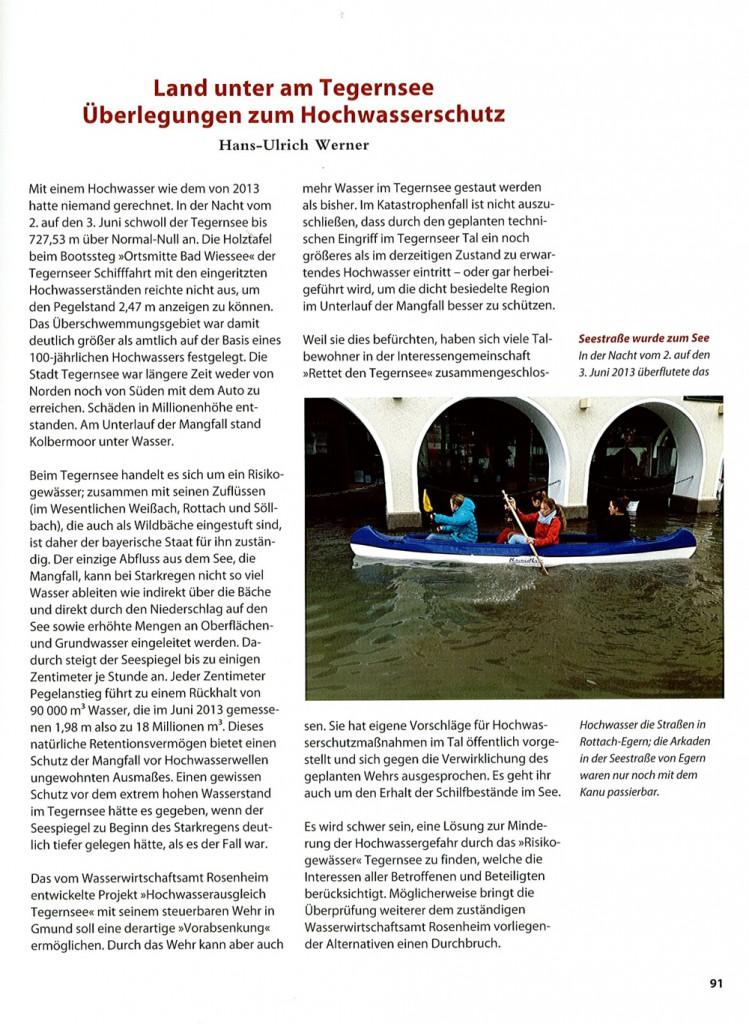 """Beitrag erschienen in """"Der Tegernsee"""", Kiebitz Buch (15. November 2014), ISBN-10: 3981213688"""