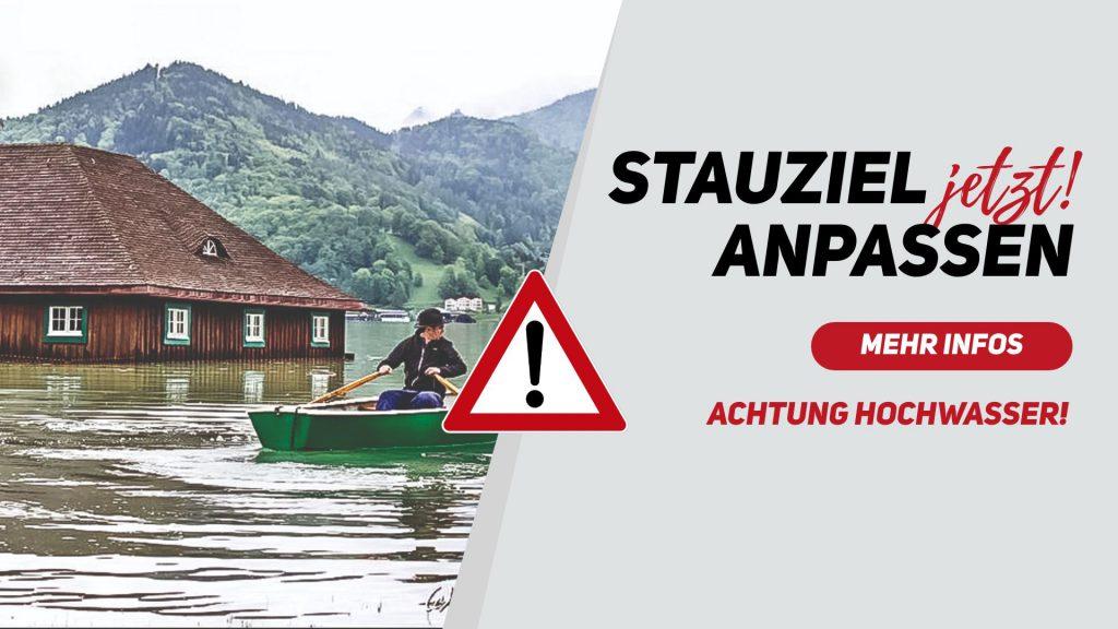 Hochwasserschutz Tegernsee